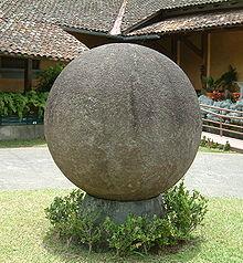 Каменные шары из Коста-Рики